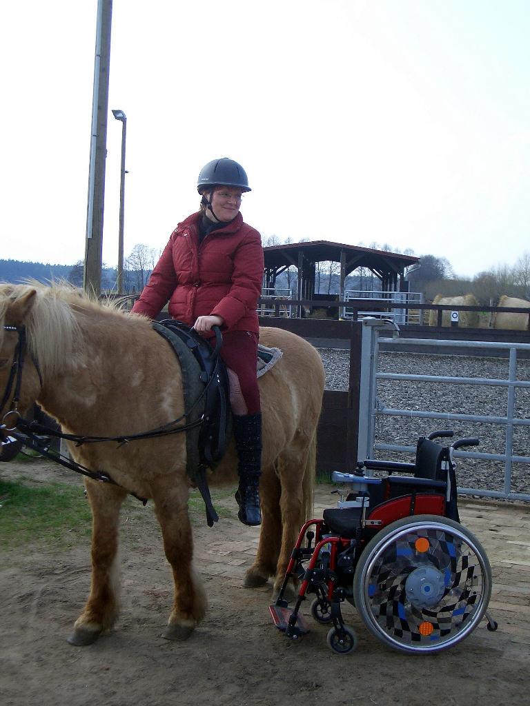 Reiterhof für behinderte Menschen